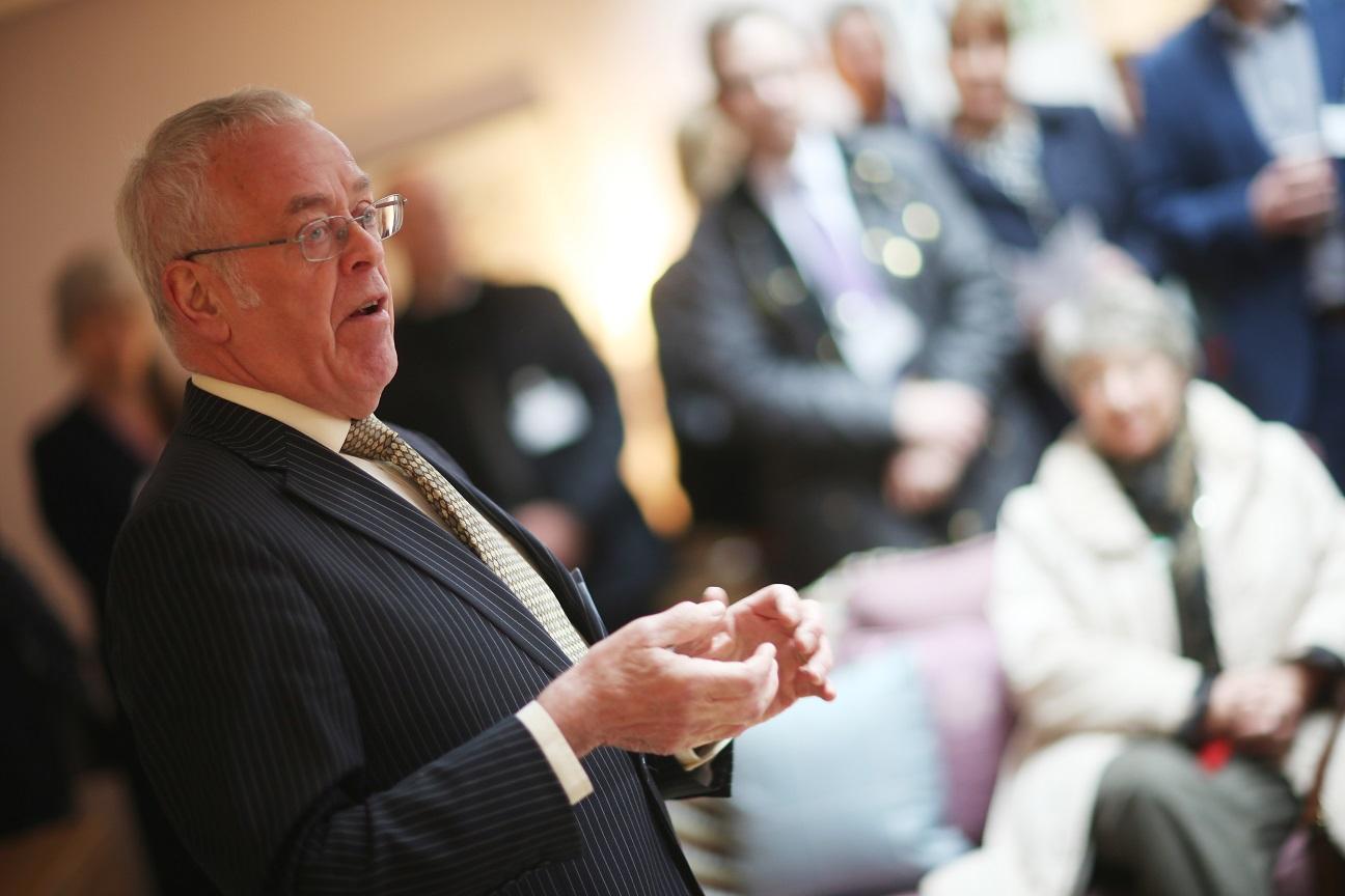 Chair of Leazes Homes, Bill Midgley