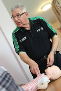 First aid training at Jubliee Court