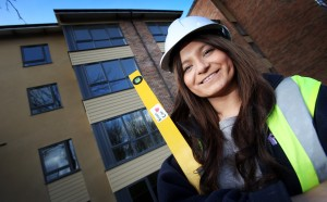 Leazes Homes apprentice - Emma Cook