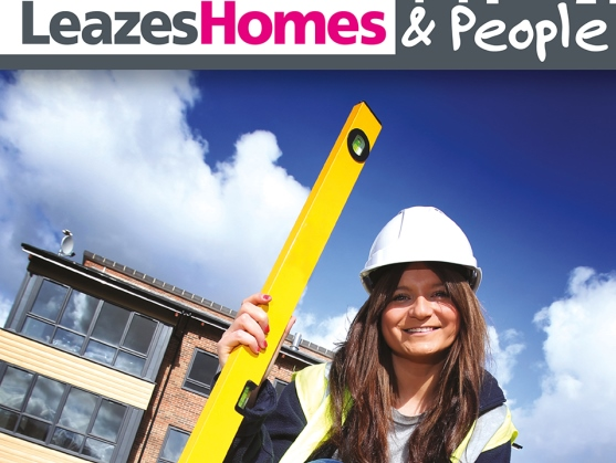 Leazes Homes and people front cover